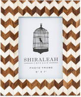 """Shiraleah Boheme Chevron 5"""" x 7"""" Picture Frame"""