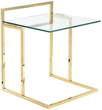 One Kings Lane Helen Tray Table - Gold