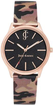 Juicy Couture Juicy Women's Couture Camo Strap Watch