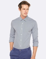 Oxford Beckton Mini Check Shirt