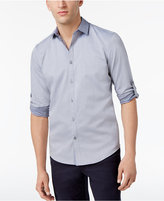 Alfani Men's Micro-Geometric Cotton Shirt, Only at Macy's