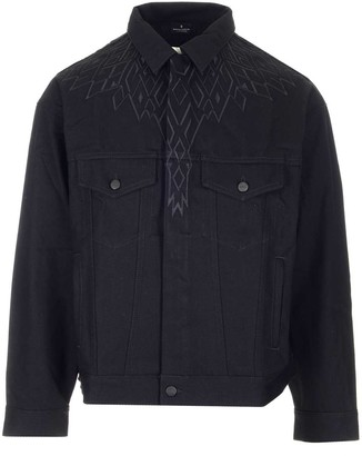 Marcelo Burlon County of Milan Wings Embroidered Jacket