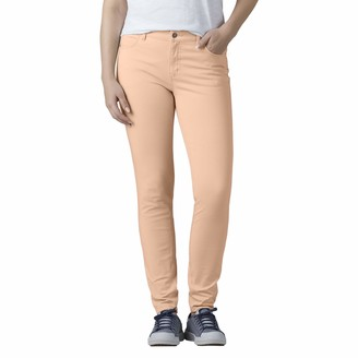 Dickies Women's Perfect Shape Twill Skinny 4 Pocket Pant