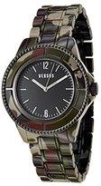 Versus By Versace Women's SF7040014 Miami Analog Display Quartz Red Watch