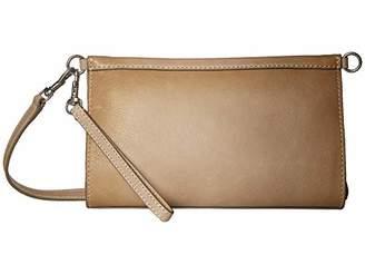Frye Reed Leather Wristlet Crossbody Bag