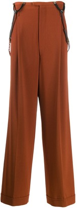 Jean Paul Gaultier Pre-Owned suspender trousers