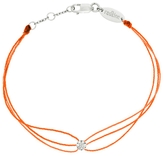 Redline Fluorescent Orange Illusion Diamond Bracelet