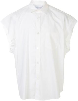 Fumito Ganryu Short Sleeved Buttoned Shirt