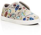 Toms Boys' Paseo Spaceship Print Low Top Sneakers - Walker