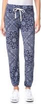 Sundry Bandana Pattern Sweatpants