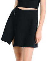 KENDALL + KYLIE Zip-Front Wrap Skirt