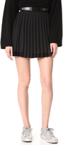 Versus Pleated Miniskirt