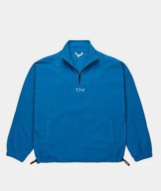 Polar Myknos Blue Polyester Lightweight Zip Pullover - SMALL - Blue