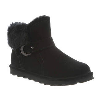 BearPaw Womens Koko Wide Water Resistant Winter Boots Flat Heel Wide Width