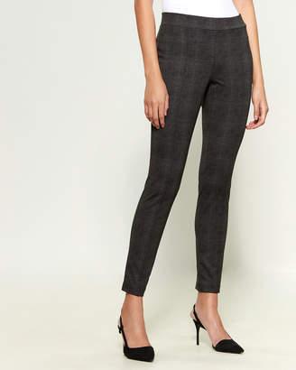 Dash Printed Pull-On Ponte Pants