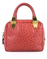 Tom Ford Pre-owned: Natasha Satchel Ostrich Small.