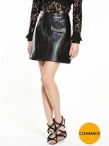 Fashion Union PU Mini Skirt
