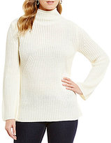 Daniel Cremieux Dee Bell-Sleeve Turtleneck Sweater