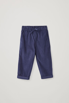 Cos Cotton Relaxed Corduroy Pants