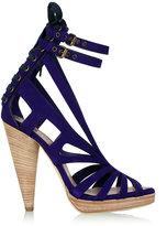 Cone Heel Strappy Platform Shoes