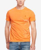 Polo Ralph Lauren Men's Big & Tall Printed Jersey Crew Neck T-Shirt