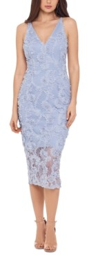 Xscape Evenings Lace Midi Dress