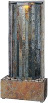 Kenroy Home SL Waterwall Indoor Table/Wall Fountain in Natural Slate Finish