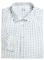 Armani Collezioni Modern-Fit Check Dress Shirt