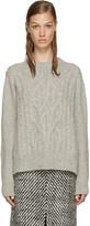 Isabel Marant Grey Gabao Sweater