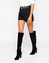 Aldo Chunky Heeled Over The Knee Boots