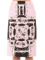 Erdem Frida Eames Garden-print skirt