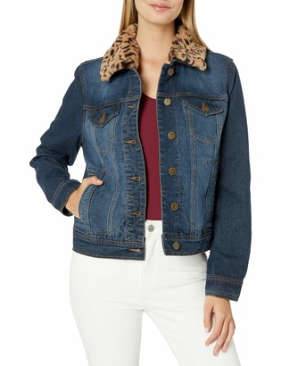 Urban Republic Women's Juniors Cotton Denim Jacket