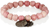 Miracle Icons Men's Beaded Bracelet-PINK
