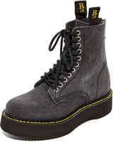R 13 Canvas Stack Boots