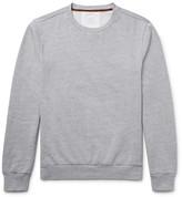 Paul Smith Elbow-Patch Fleece-Back Cotton-Jersey Sweatshirt