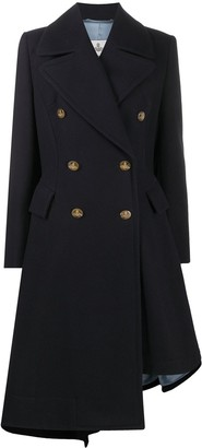 Vivienne Westwood Double-Breasted Asymmetrical Coat