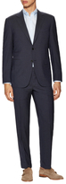 Canali Woven Notch Lapel Suit
