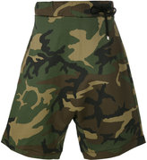 Numero 00 Numero00 - camouflage shorts - men - Cotton/Acrylic/Polyester/Spandex/Elastane - XL