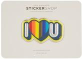 Anya Hindmarch I Love U sticker