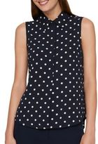 Tommy Hilfiger Dotted Sleeveless Top