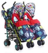 Cosatto Supa Dupa Double Stroller in Monster 2 Multi