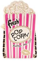 Betsey Johnson Faux Leather In A Jiff Popcorn Crossbody