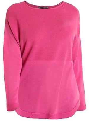 Marina Rinaldi, Plus Size Dropped Shoulder Wool Sweater