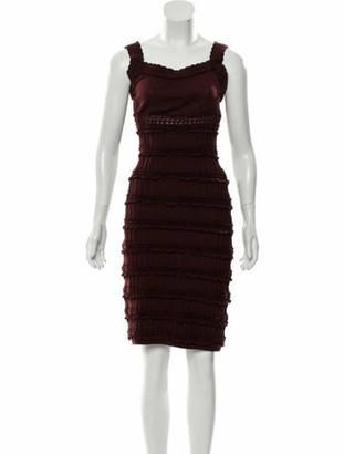 Alaia Sleeveless Knee-Length Dress