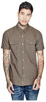 GUESS Men's Francis Striped Shirt