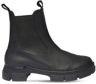 Ganni 45mmm Ankle Rubber Rain Boots