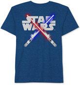 Star Wars Lightsaber Graphic-Print T-Shirt, Little Boys (4-7)