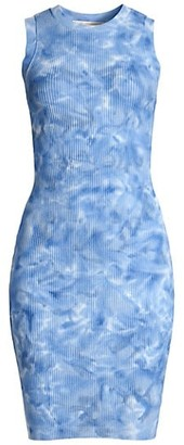MICHAEL Michael Kors Tie-Dye Midi Tank Dress