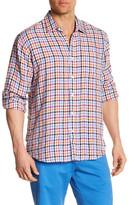 Toscano Long Sleeve Regular Fit Linen Shirt