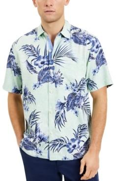 Tommy Bahama Men's Goa Gardens Classic-Fit Floral-Print Silk Camp Shirt